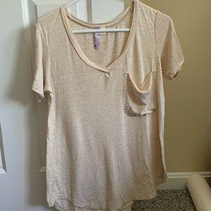 ALYA Small Tan T-shirt